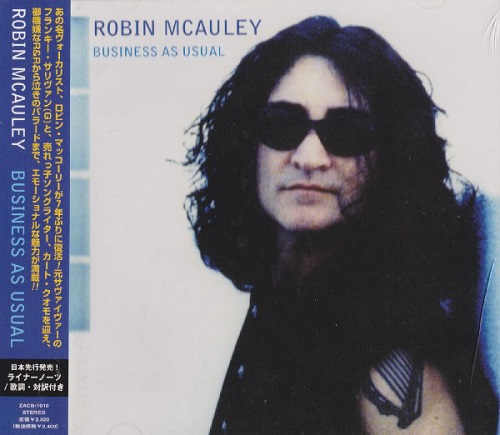 ROBIN MCAULEY - Business as Usual cover