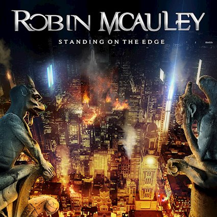 ROBIN MCAULEY - Standing On The Edge cover