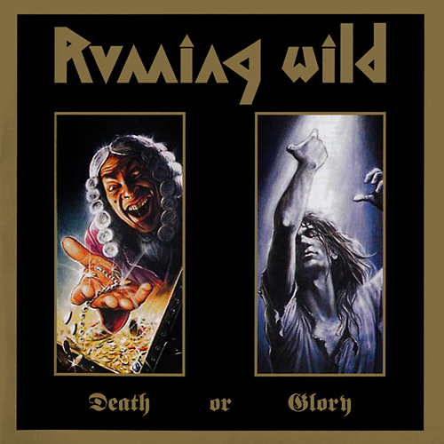 RUNNING WILD - Death or Glory cover