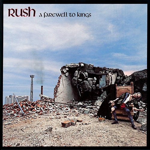 RUSH - A Farewell to Kings cover
