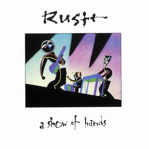 RUSH - A Show of Hands cover