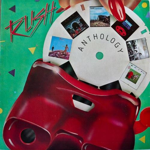 RUSH - Anthology cover