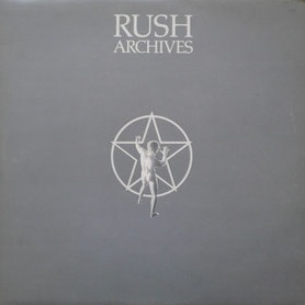RUSH - Archives cover