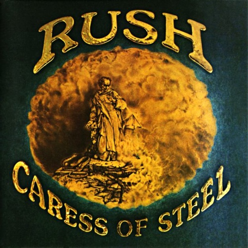 RUSH - Caress of Steel cover