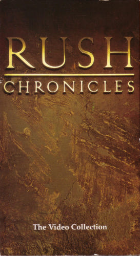 RUSH - Chronicles: The Video Collection cover