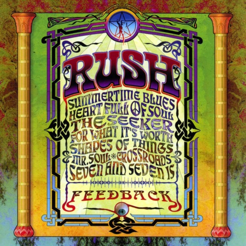 RUSH - Feedback cover