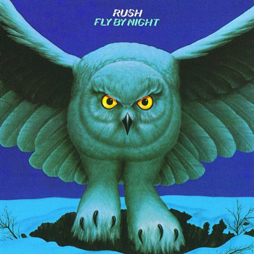 RUSH - Fly by Night cover