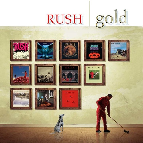 RUSH - Gold cover