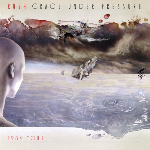 RUSH - Grace Under Pressure Tour cover