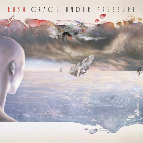RUSH - Grace Under Pressure cover