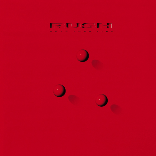 RUSH - Hold Your Fire cover