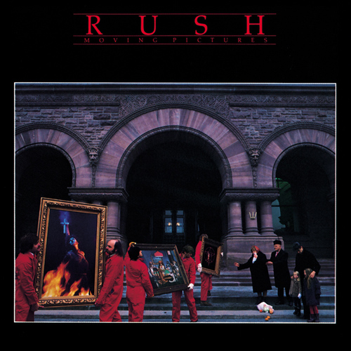 RUSH - Moving Pictures cover