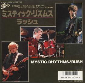 RUSH - Mystic Rhythms cover