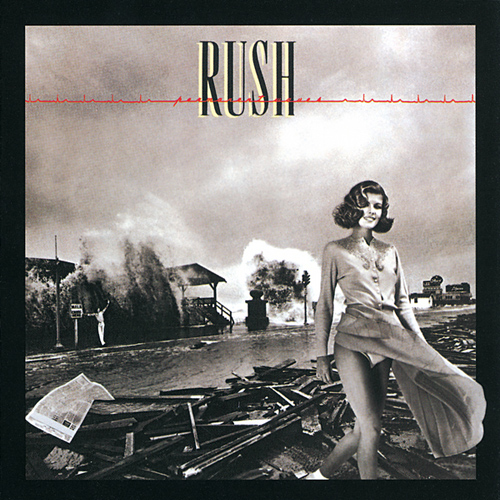 RUSH - Permanent Waves cover