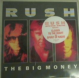RUSH - The Big Money cover