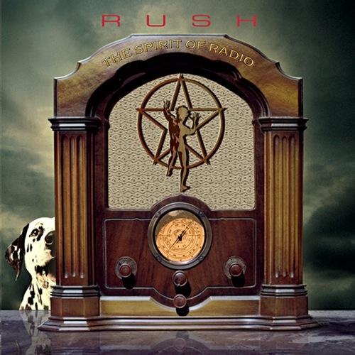 RUSH - The Spirit of Radio: Greatest Hits 1974-1987 cover