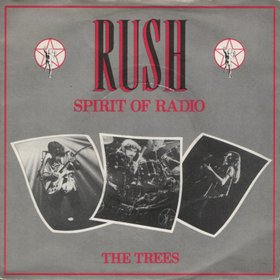 RUSH - The Spirit Of Radio / The Trees cover