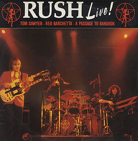 RUSH - Tom Sawyer / A Passage To Bangkok / Red Barchetta cover
