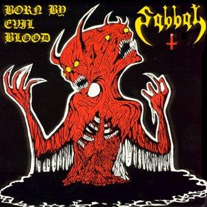 SABBAT - Born by Evil Blood cover