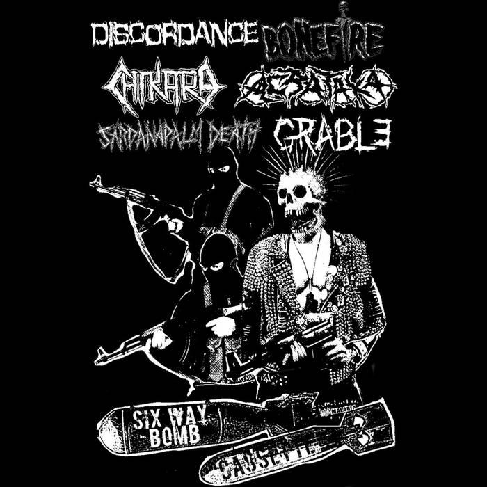 SARDANAPALM DEATH - Six Way Bomb cover