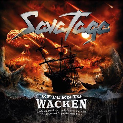 SAVATAGE - Return to Wacken cover