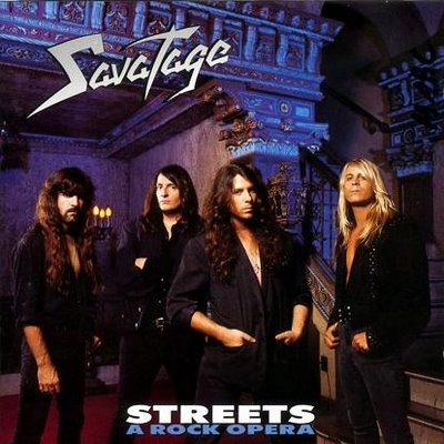 SAVATAGE - Streets: A Rock Opera cover