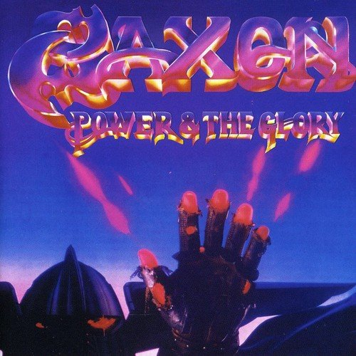 SAXON - Power & the Glory cover