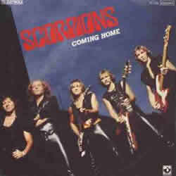 SCORPIONS - Coming Home cover