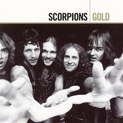 SCORPIONS - Gold cover