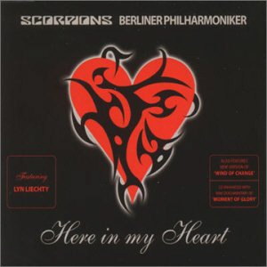 SCORPIONS - Here In My Heart cover