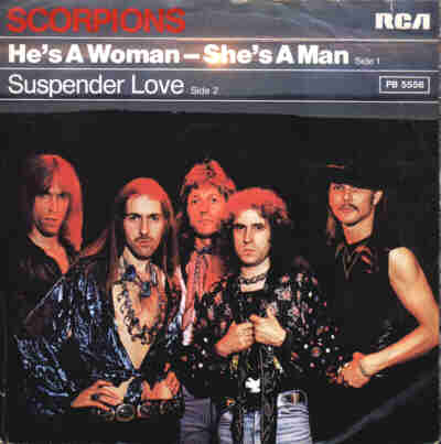 SCORPIONS - He's A Woman - She's A Man cover