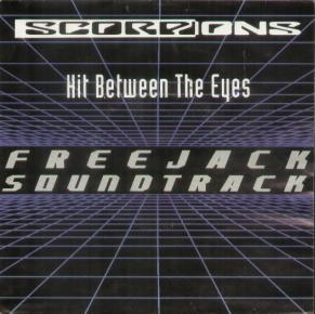 SCORPIONS - Hit Between The Eyes cover