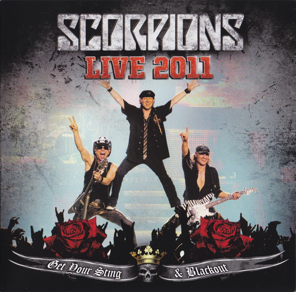 SCORPIONS - Live 2011: Get Your Sting & Blackout cover