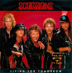 SCORPIONS - Living For Tomorrow cover