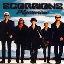 SCORPIONS - Mysterious cover