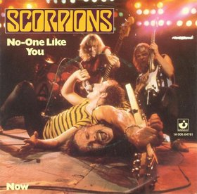 SCORPIONS - No One like You cover