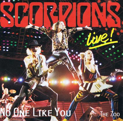 SCORPIONS - No One Like You (Live) cover