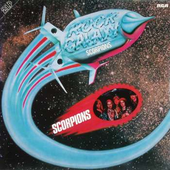 SCORPIONS - Rock Galaxy cover