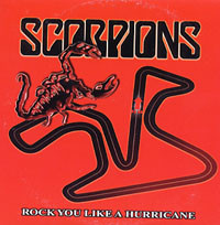 SCORPIONS - Rock You Like A Hurricane cover