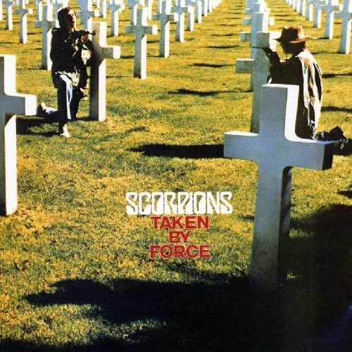SCORPIONS - Taken By Force cover