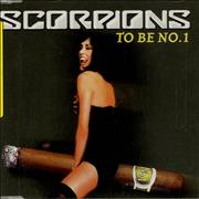 SCORPIONS - To Be No. 1 cover