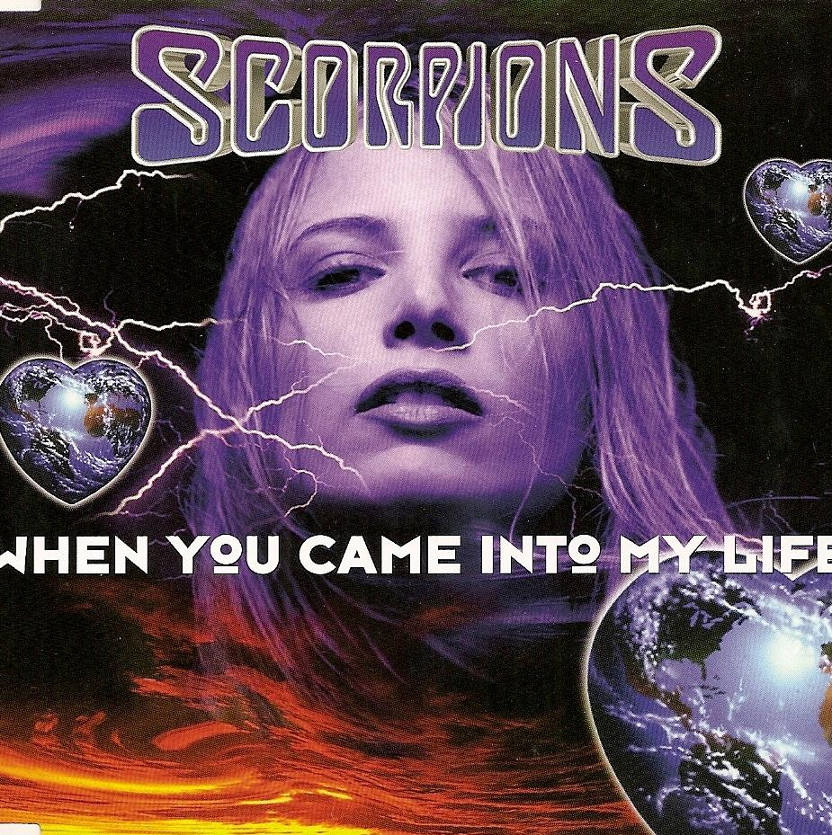 SCORPIONS - When You Came Into My Life cover