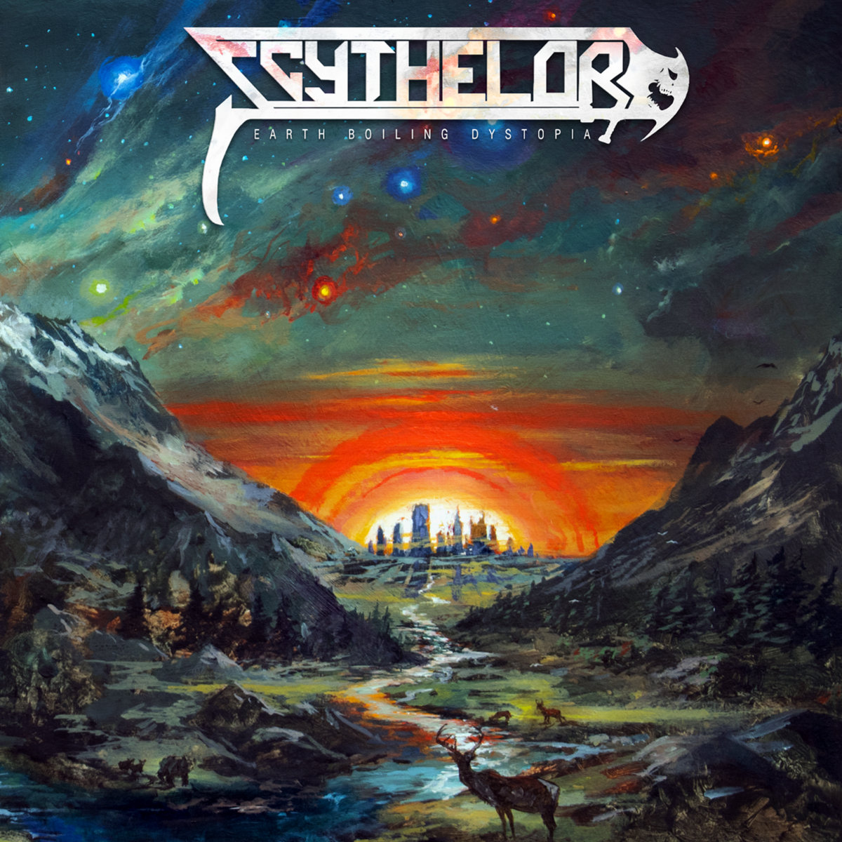 SCYTHELORD - Earth Boiling Dystopia cover