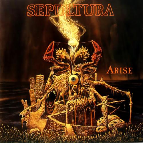 SEPULTURA - Arise cover