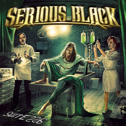 SERIOUS BLACK - Suite 226 cover