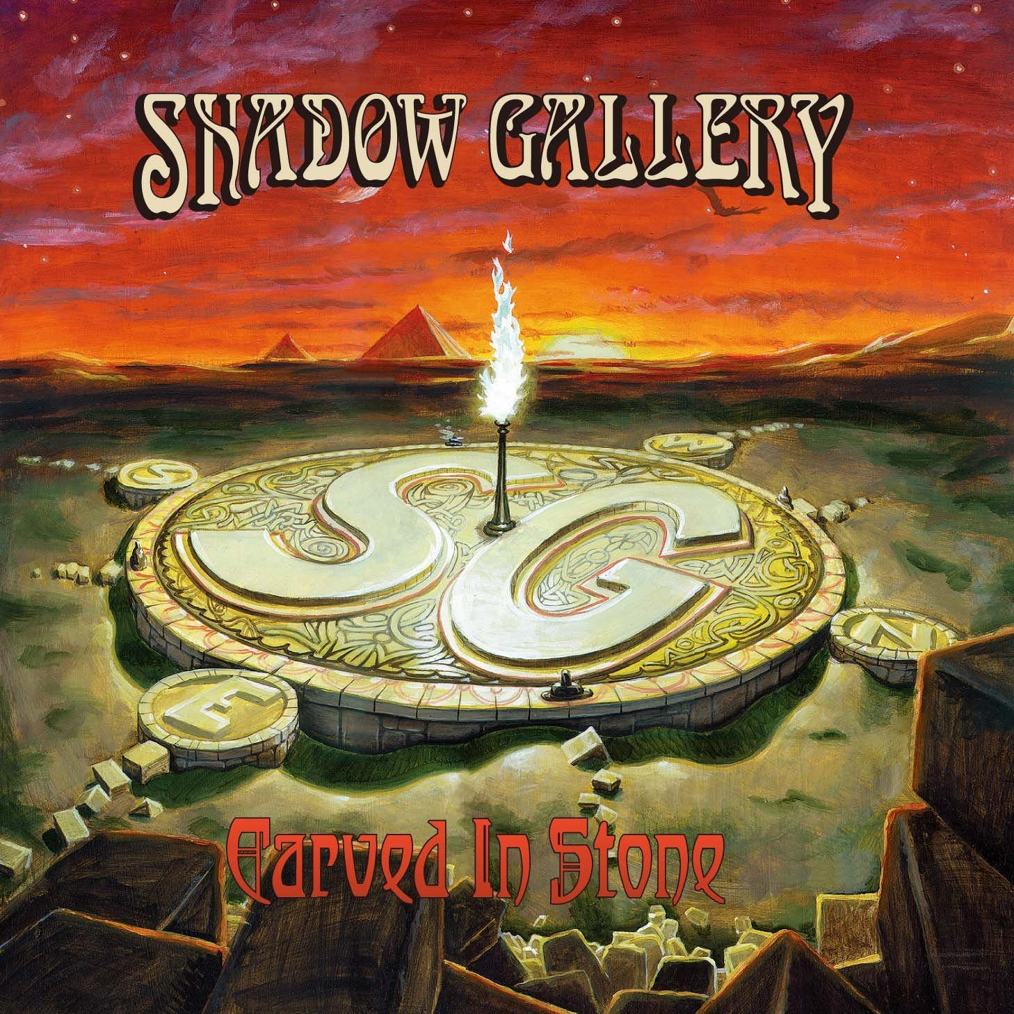 SHADOW GALLERY - Carved In Stone cover