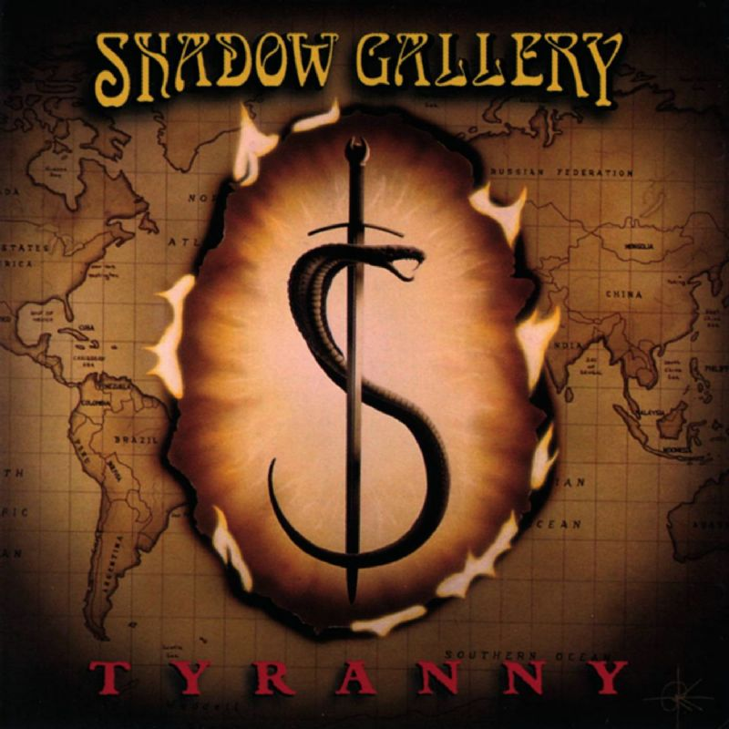 SHADOW GALLERY - Tyranny cover