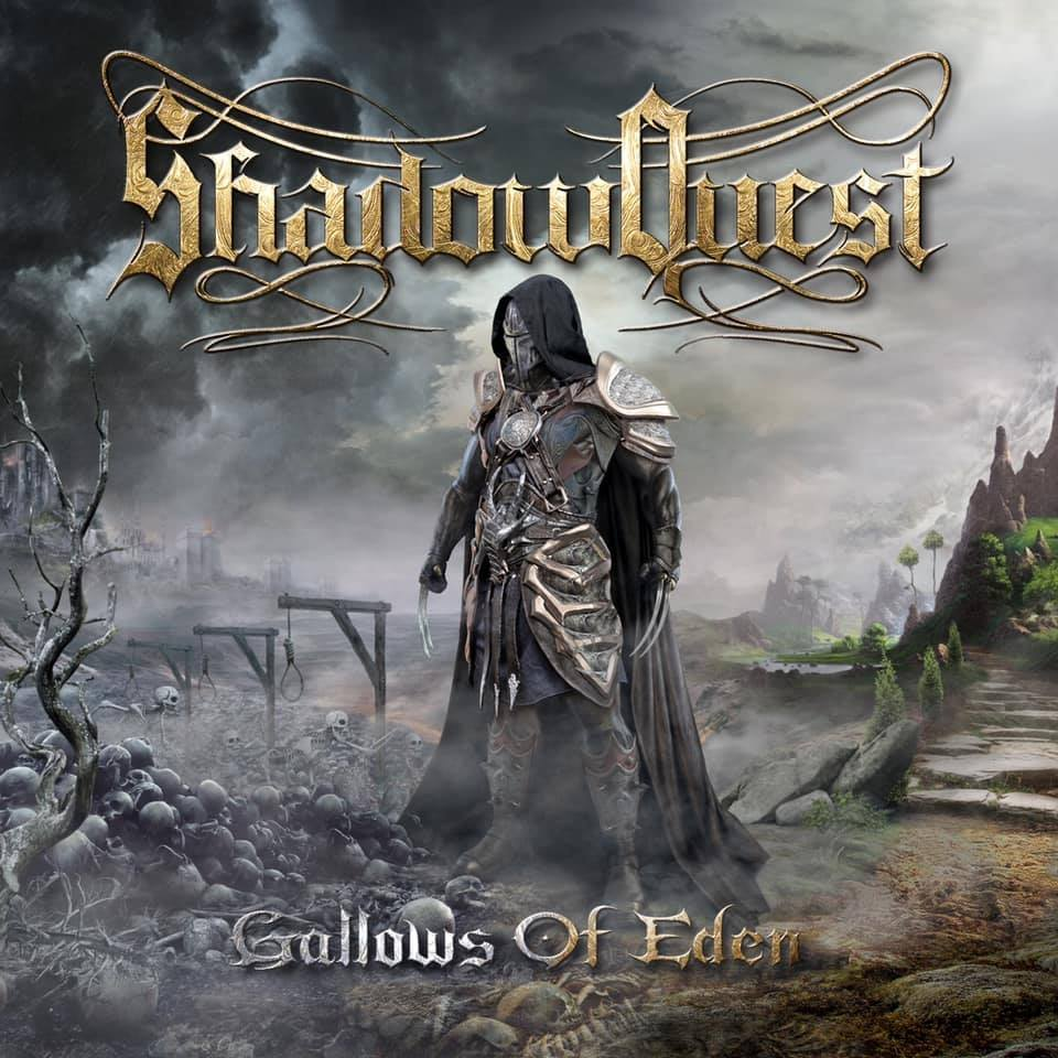 SHADOWQUEST - Gallows of Eden cover
