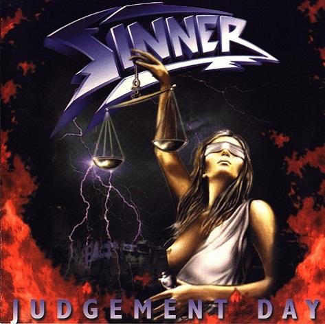 SINNER - Judgement Day cover