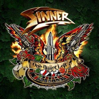 SINNER - One Bullet Left cover